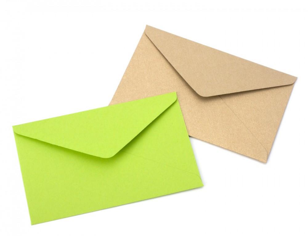 Одна открытка два конверта